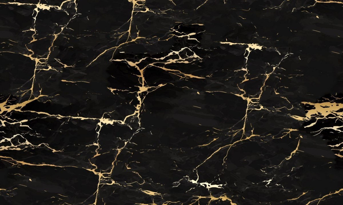Eco wallpaper wall MARBLE BLACK