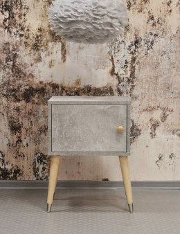 Bedside Concrete light-set of 2 pieces