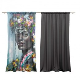 Cotton curtains AFRIKANS