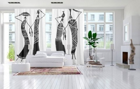 Cotton curtains ETHNIC