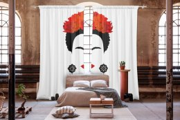 Cotton curtains FRIDA