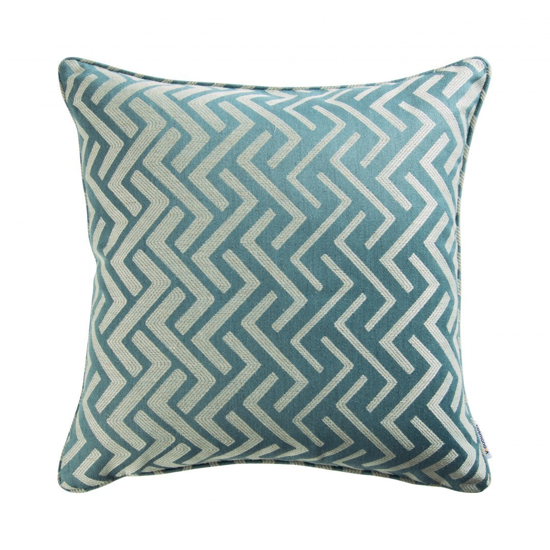 PALMARIA Pillow STONE BLUE