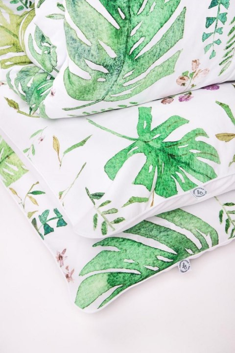 Bed linens Monstera with anti-bacterial silver ions