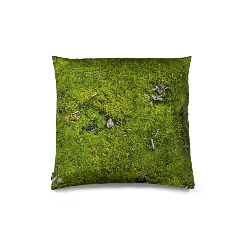 MOSS-pillow filled with buckwheat husm-40x40 cm