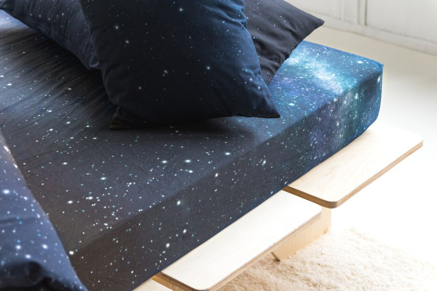 NORTHERN SKY - fitted sheet