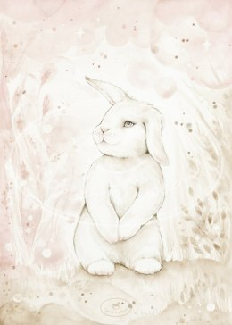 LOVELY RABBIT POSTER