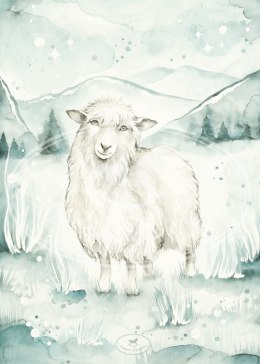 LOVELY SHEEP POSTER
