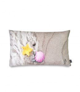 BEACH-pillow filled with buckwheat huss-50x30 cm