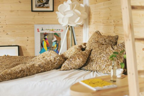 STRAW-double set of bed linen