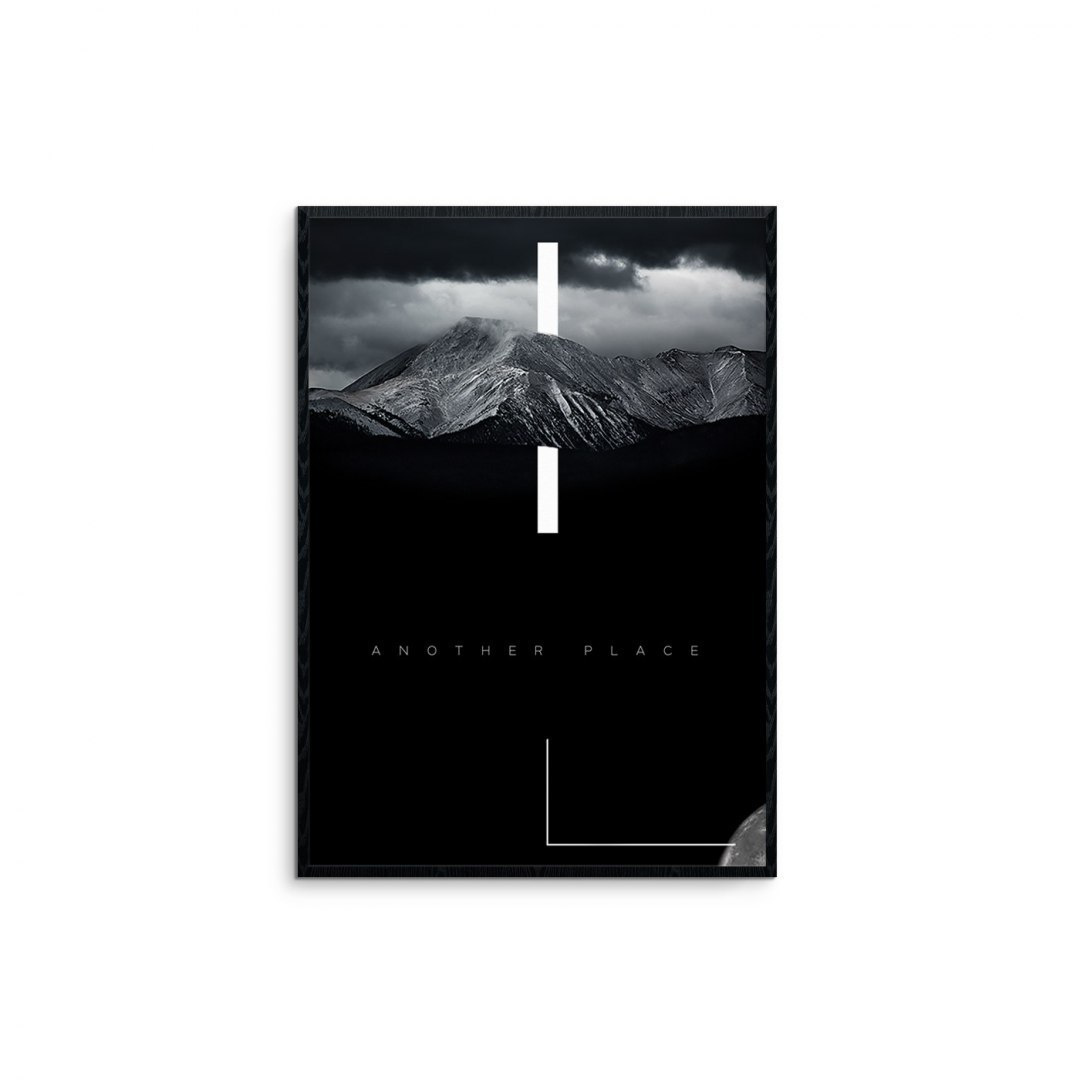 """mountains - black"" graphics"