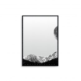 "Graphic ""mountains - white"""